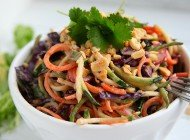 Raw pad thai Recept (Veganistisch)