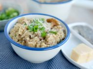 Havermout-risotto met champignons