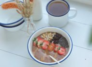 Cacao ontbijtbowl (met pindaboter) + GIVEAWAY